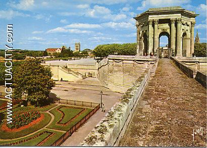 Cartes postales anciennes de montpellier 34000 actuacity - Residence les jardins de l aqueduc montpellier ...
