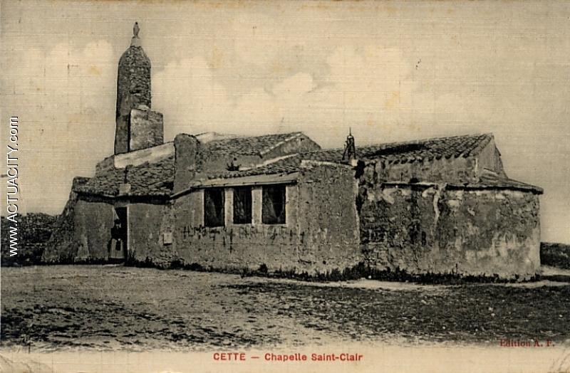 chapelle ND de la Salette. Sete Mont St Clair