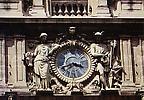L'Horloge de la façade de la Préfecture ancien Hôtel de Ganges (XVIIe siècle)