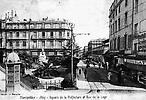 Square de la Préfecture et rue de la Loge