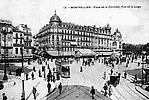 Place de la Comédie aujourd'hui Place de l'Oeufs