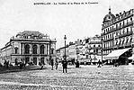 Le Théâtre et la Place de la Comédie aujourd'hui Place de l'Oeufs