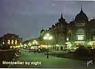Le coeur de la ville, la nuit Théâtre et Place de la Comédie