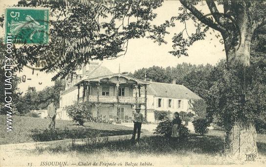Chateau de Frapesle 1911