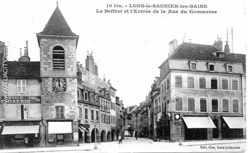 Cartes postales anciennes de lons le saunier 39000 actuacity - Lons le saunier office du tourisme ...