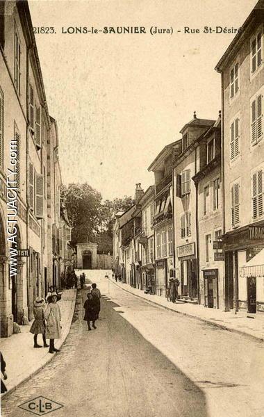 Cartes postales anciennes de lons le saunier 39000 for Bureau de tabac lons 64