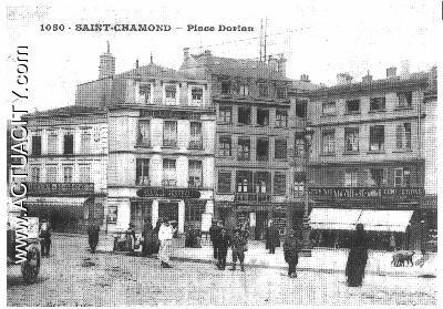 Cartes postales anciennes de saint chamond 42400 actuacity - Saint chamond 42400 ...