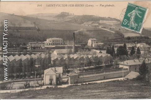 Cartes postales anciennes de saint victor sur rhins 42630 actuacity - Garage rebaud st victor sur loire ...