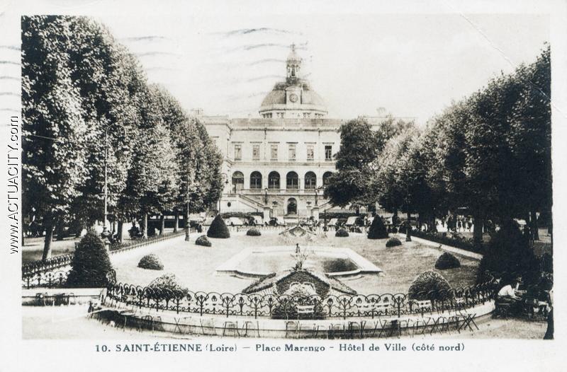 Cartes postales anciennes de saint tienne 42000 actuacity for 42 ecole piscine