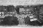 La Place du Peuple et la Rue du Général Foy