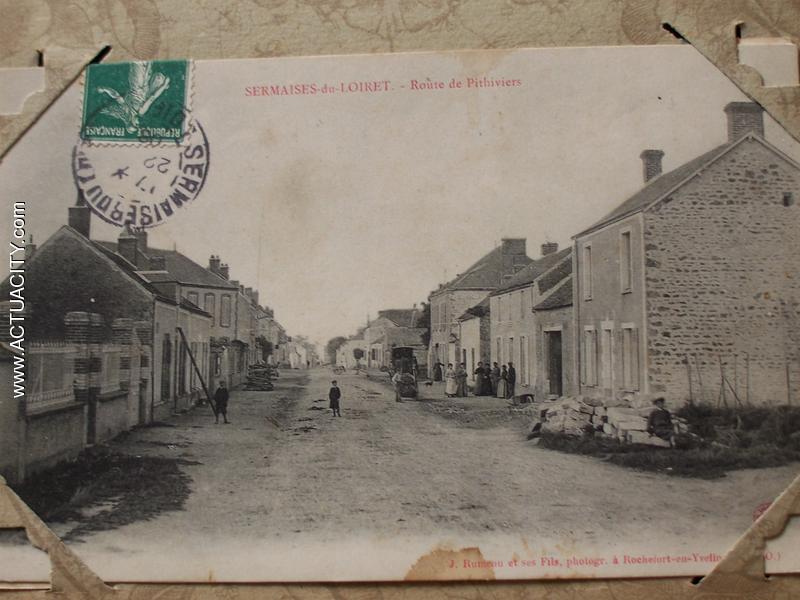 Cartes Postales Anciennes De Sermaises  45300