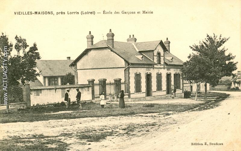 cartes postales anciennes de vieilles maisons sur joudry 45260 actuacity