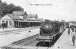 La gare et le Paris-Nevers