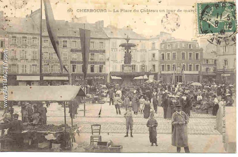 Vieille Ville De Cherbourg