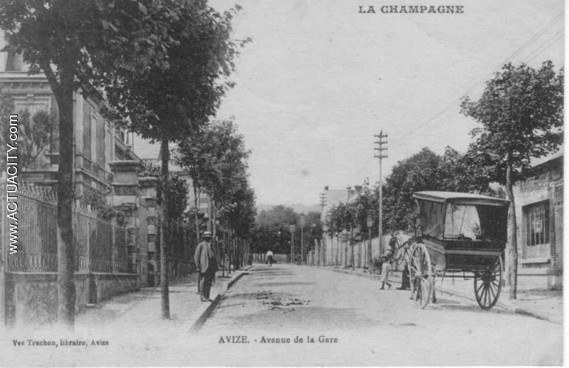 avenue de la gare Vve Tronchon