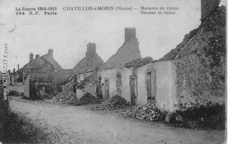 154 maisons en ruines R P Paris