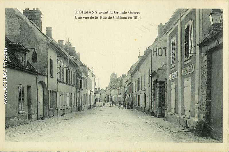 Cartes postales anciennes de dormans 51700 actuacity for Garage auto igny
