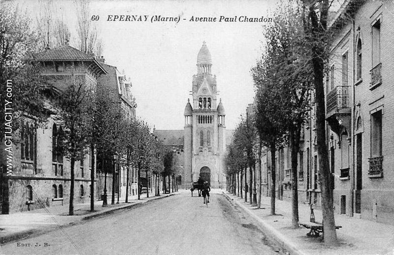 Cartes postales anciennes d 39 pernay 51200 actuacity for Plan d epernay