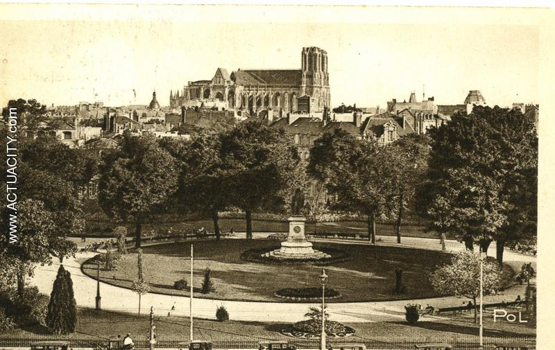 Cartes postales anciennes de reims 51100 actuacity for Le jardin reims