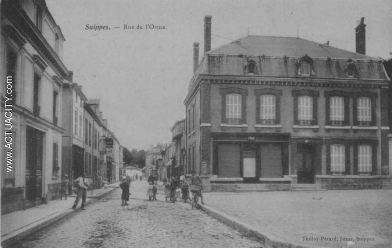Cartes postales anciennes de suippes 51600 actuacity for Piscine de suippes
