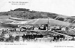 L`Hôpital Auban-Moët et le Mont Bernon