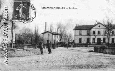Cartes postales anciennes de champigneulles 54250 for Piscine champigneulles