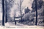 St Mihiel en hiver - la route de Verdun - Les roches