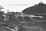 Le Mont de Forbach avec son Château