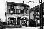 Café aux Drapeaux Français