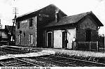 La Gare de Welferding qui fait partie de Sarreguemines auhourd`hui