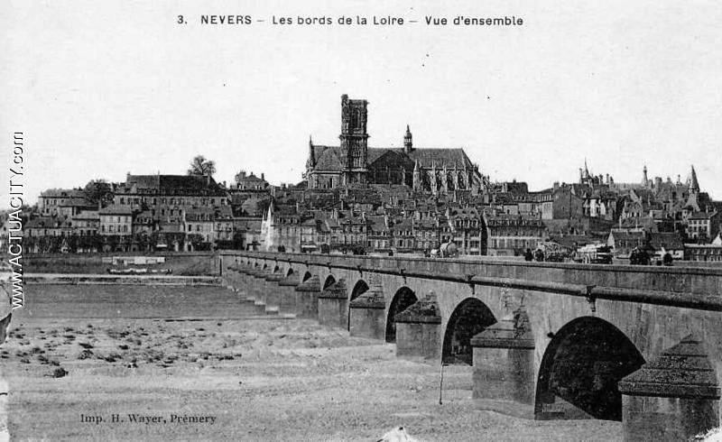 Cartes postales anciennes de nevers 58000 actuacity for Code postal de nevers