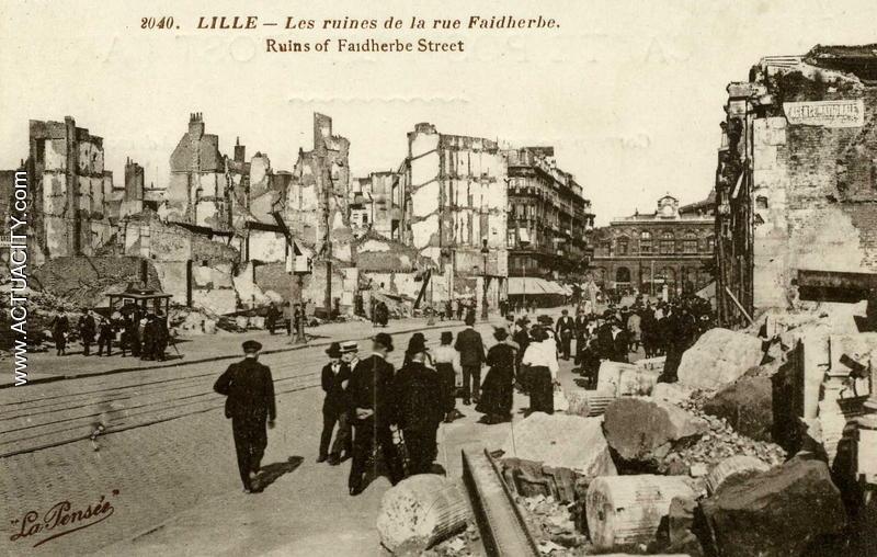 Cartes postales anciennes de lille 59000 actuacity for Au dela du miroir lille