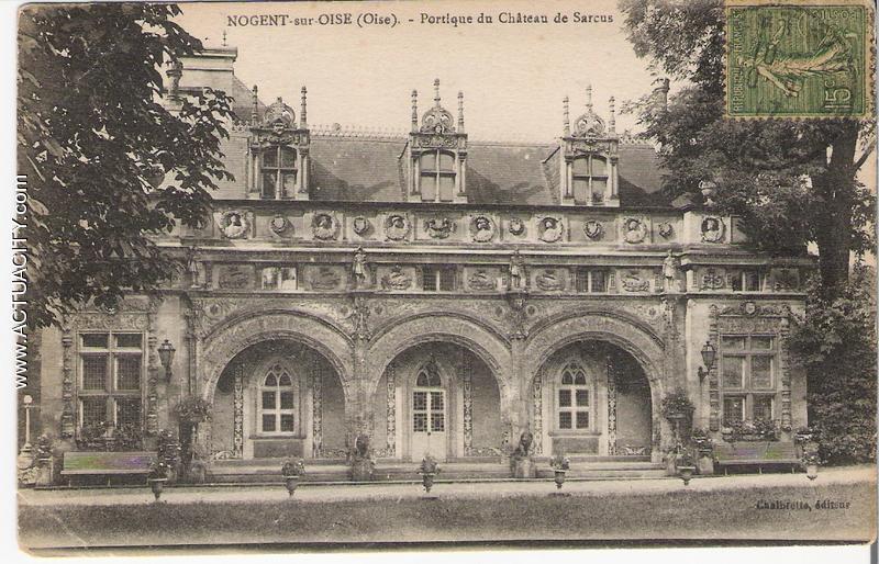 Cartes postales anciennes de nogent sur oise 60180 for Horaire piscine nogent sur oise