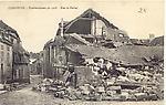 Grande Guerre - bombardement rue du harlay