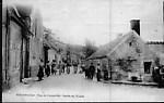 ancienne rue de Coupeville , maintenant rue Talon sortie usine de boutonniers