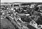 vue aérienne du village prise de la rue Talon