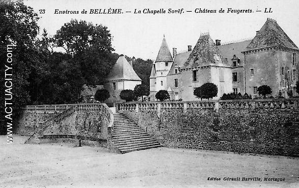 Château de Feugerets( La Chapelle Souef)