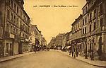 N&B sépia-143-Rue St Blaise. Les Hôtels (Grand Cerf, Renaissance)