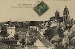 N&B-1256-Vue panoramique prise du clocher de St Martin