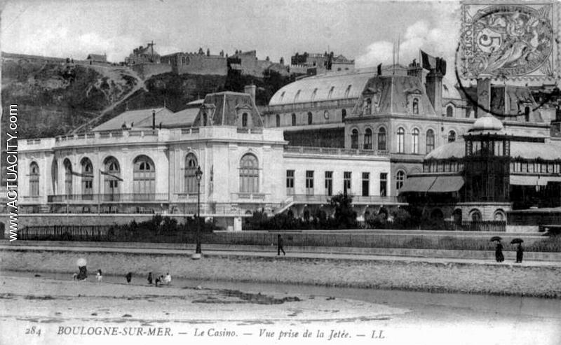 Cartes postales anciennes de boulogne sur mer 62200 - Les jardins de la matelote boulogne sur mer ...