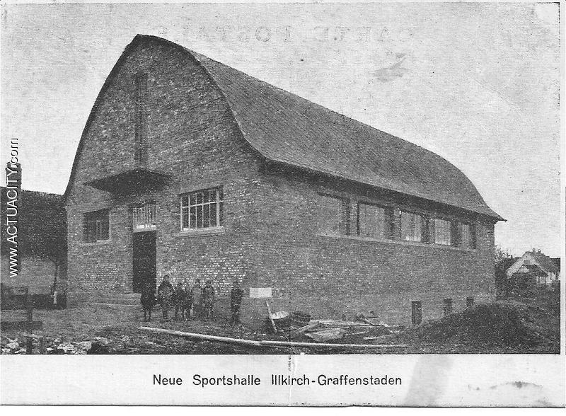 Hall de sport de Illkirch graffenstaden bas rhin