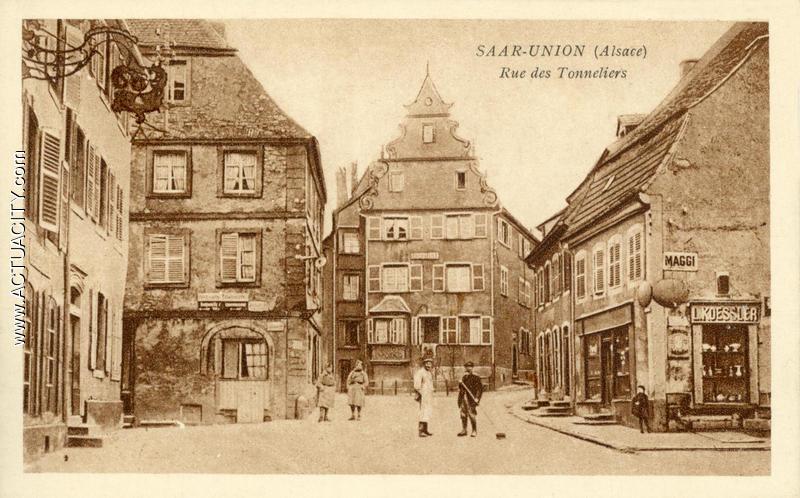 Cartes postales anciennes de sarre union 67260 actuacity - Bricomarche sarre union ...