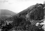 Vue de la vallée de la Zorn, au passage de la Lorraine en Alsace. Environ de Saverne