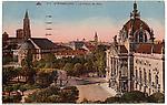 Strasbourg, Palais du Rhin et cathédrale