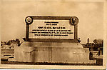 Plaque commémorant la construction par les Génies français et américain du nouveau pont des Chemins