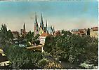Strasbourg - L'église St Paul et la cathédrale