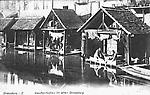 Les Laveuses aux Lavoirs dans le vieux Strasbourg