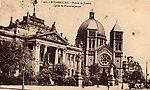 Strasbourg  Le Palais de Justice et l'Eglise St Pierre le Jeune