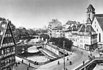 Strasbourg vue du canal de l'Ill avant 1918