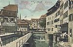 Strasbourg La petite France en 1908